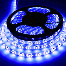 5M 300Leds 5630 Blue Super Bright LED Strip SMD Xmas Light Waterproof 12V DC US
