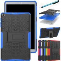 "For Samsung Galaxy Tab A E 3 4 S5e S2 7"" 8"" 9.7"" 10.1"" Rubber Stand Case Cover"