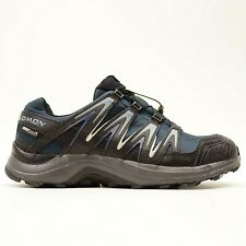 New Salomon XA Comp 7 Mens US 10 EU 44 Navy Trail Hiking WP Trail Running Shoes