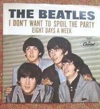 BEATLES Picture Sleeve 45 Capitol 5371 Eight Days a Week-I Don't Want to Spoil..