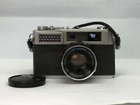 【As-is】Konica S 35mm Rangefinder Camera  Hexanon 48mm f2 from JAPAN