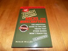 HACKS FOR MINECRAFT Combat Edition Minecrafters Game Tricks Tips Trick Book NEW