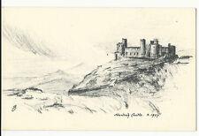 Wales - Harlech Castle - Judge's Postcard Picture