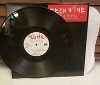 "Tech N9ne - I'm Playa BLACK Vinyl 12"" LP Single Record strange music rap promo"
