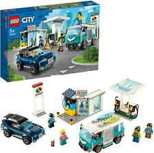 LEGO 60257 City Turbo Wheels Service Station with SUV, Camper Van and Surfboards