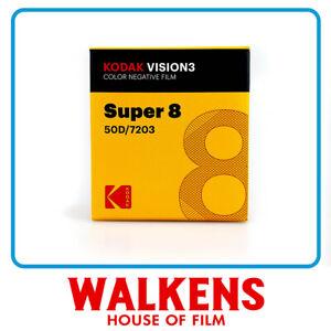 Kodak Vision3 Super 8 Film - 50D 7203 50ft - FLAT-RATE AU SHIPPING!