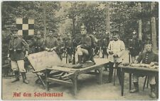 Soldiers Pickelhaube 1910 Militaria German Imperial Army Postcard (695)