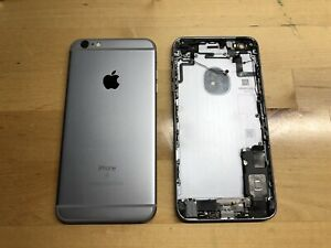 OEM Original Apple iPhone 6s Plus+ Gray Housing Frame with Small Parts (B Grade)