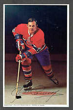 1969-71 Canadiens (Pro Star Promotions) Team Issued Postcard, Yvon Cournoyer