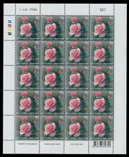 2003 Thailand Stamp Rose Flower Granite Paper Rose Scent Full Sheet MNH Sc#2058