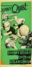 Jonny Quest Mystery Of The Lizardmen Limited Edition Giclee Print Signed