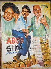 Aboa Sika, Snake Man, Ghanaian Film
