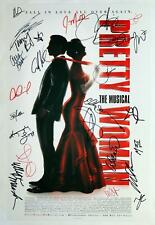 PRETTY WOMAN Cast Samantha Barks, Orfeh, Andy Karl ++ Signed Poster