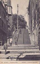 L'Escalier Champlain QUEBEC QC Canada 1907 Carte Postale ND Phot 243 Postcard