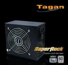 Tagan TG-600-U33II ATX Netzteil 600Watt 80Plus mit 12 cm Lüfter Power Supply