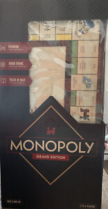 Hasbro Monopoly Grand Edition Wood Frame Rare! Insane Find! Sold Out Everywhere!
