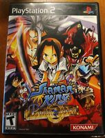 Shaman King: Power of Spirit (Sony PlayStation 2, 2004) RARE HTF Shonen Jump PS2
