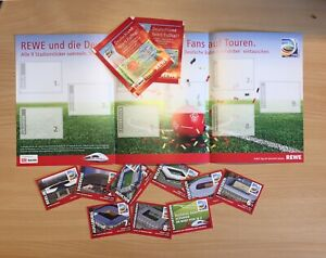 Rewe 2011 Womens World Cup Promo Album With 8/9 Stadia + 2 Sealed Packs