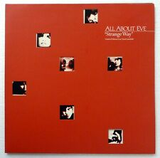 "All About Eve Strange Way 4-track 12"" Ltd Ed/Numbered/Gatefold Rp1264"