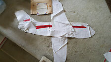 RARE 1968 TWA Airlines Airplane Inflatable Advertising Promotional Sign NEW Cond