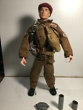 Vintage Palitoy 1964 Action Man Paratrooper Blond Flocked Hair With Accessories
