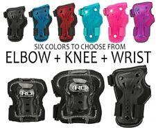 Roller Derby Kids Roller Skating Pads - Knee, Wrist, & Elbow Pads (6 colors)