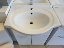 600mm Ceramic Semi Recessed Vanity / Bathroom Cabinet / Laundry / Faucet / Basin