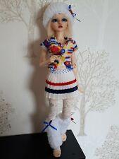 Clothes for BJD Minifee Doll (sailor)