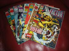 X-FACTOR - LOT DE 8 TOMES DU N°48 AU N°55 - MARVEL COMICS 1997 / 98