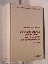 CODICE CIVILE ANNOTATO dottrina e la giurisprudenza Pietro Perlingieri UTET di e