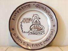 VIETRI Hand Decorated Italian Plates Ristorante Del Buon Ricordo, GIARDINO
