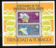 TRINIDAD & TOBAGO # 244a MNH POST OFFICE & UNIVERSAL POSTAL UNION CENTENARY