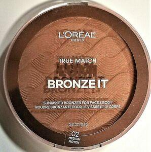 L'OREAL TRUE MATCH® LUMI Bronze It Bronzer 02 Medium Moyen 0.41 oz.