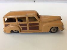Vintage Diecast DINKY TOYS Plymouth Woody Estate Car Station Wagon 27F Meccano *
