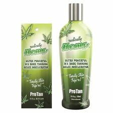 Pro Tan Radically Hemp gelee sunbed accelerator lotion cream sachet or bottle