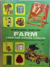 Montgomery Ward 1968 Farm Catalog FULL COLOR Riding Garden Tractor 168pg Gilson