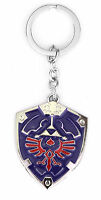 Nintendo Legend of Zelda Link Twilight Princess Metal Hylian Shield Key Chain