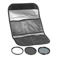 Hoya 58mm Digital Filter Kit II - Slim UV, Cir-PL, ND8 Filters & Case HK-DG58-II