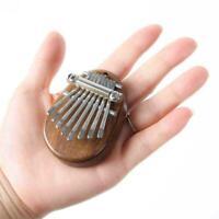 8-key Mini Kalimba Wooden Thumb Piano Finger Percussion Keyboard L7J4