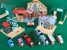 TALKING RAILWAY SERIES TRAINS DESTINATIONS for THOMAS & FRIENDS WOODEN BRIO SET
