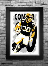 bf6e3b36459 JAMES CONNER art print/poster PITTSBURGH STEELERS FREE S&H! JERSEY