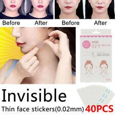 40/80/160Pcs Thin Facial Stickers Line Wrinkle Sagging V-Shape Face Lift Tape