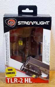 Streamlight TLR-2 HL High Lumen Weapon Flashlight With Red Laser Sight 69261