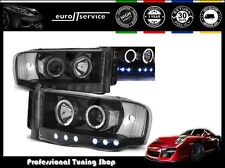 FARI ANTERIORI HEADLIGHTS LPDO04 DODGE RAM 2002 2003 2004 2005 2006 ANGEL EYES