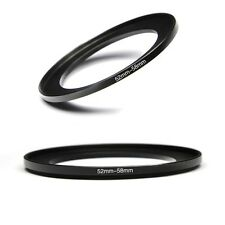 52mm to 58mm Step Up Ring Adapter 52-58mm