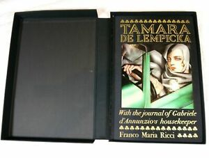 TAMARA DE LEMPICKA FMR FRANCO MARIA RICCI BOOK # 0847801446 HARDCOVER SLIPCASE