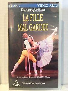 LA FILLE MAL GARDEE~THE AUSTRALIAN BALLET~FIONA TONKIN & DANIEL McALLISTER~VIDEO