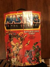New Listingmasters of the universe collectors case Motu Clean!