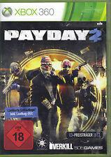 Payday 2 (X-Box360) Limitierte Erstauflage