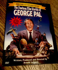 Fantasy Film Worlds Of George Pal Dvd Director's Cut Sci-Fi Expanded Edition